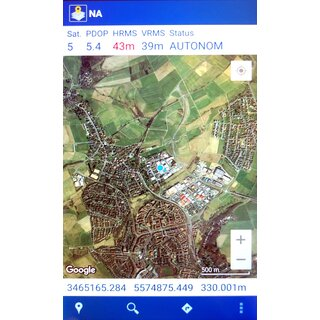 MobileMapper Field Android Software