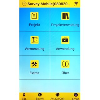 Spectra Precision Survey Mobile Software